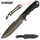 Schrade Extreme Survival Titanium Knife And Pry Tool