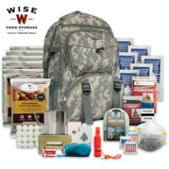 Five-Day Survival Backpack, ACU Camo